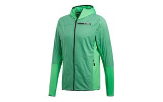 adidas TERREX SKYCLIMB FLEECE GREEN JACKET CF9860