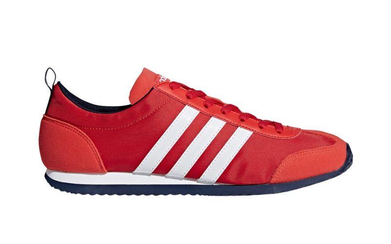 new product 7bd79 2525e adidas neo VS JOG RED WHITE DB0463