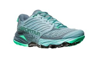 LA SPORTIVA AKASHA WOMENS GREY GREEN 26Z904704