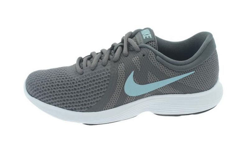 Nike Revolution 4 Eu Mujer Gris Azul Naj3491 004 drwga
