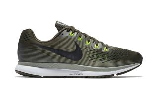 AIR ZOOM PEGASUS 34 OLIVA NERO N880555 302
