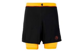 LA SPORTIVA RAPID BLACK YELLOW SHORTS