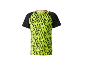 Mizuno T-SHIRT AERO TEE YELLOW BLACK J2GA800245
