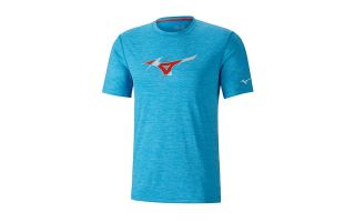 MIZUNO T-SHIRT IMPULSE CORE GRAPHIC TEE BLUE J2GA800923