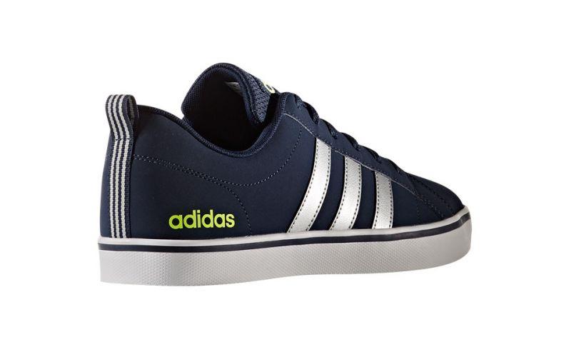 adidas neo vs Pace Bleu Marine Jaune Fluo - Opportunités en Sneakers
