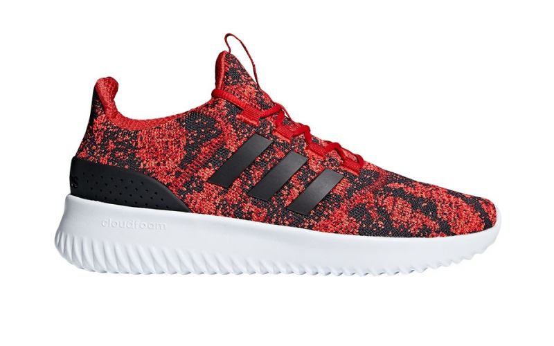 wholesale dealer 40b38 89efb adidas neo CLOUDFOAM ULTIMATE RED BLACK DB0891