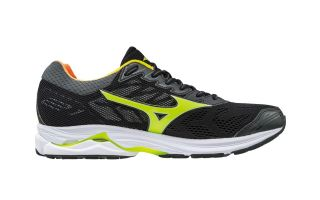 Mizuno WAVE RIDER 21 OSAKA BLACK YELLOW J1GC180844
