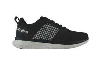 REEBOK PT PRIME RUNNER FC WOMEN BLACK WHITE CN3153
