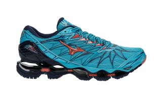 Mizuno WAVE PROPHECY 7 WOMEN BLUE CORAL J1GD180065