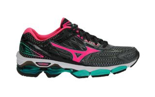 MIZUNO WAVE CREATION 19 MUJER GRIS ROSA J1GD170163