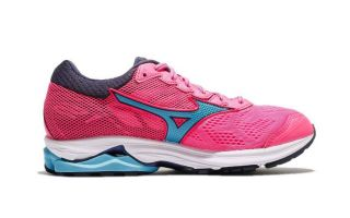 Mizuno WAVE RIDER 21 WOMEN PINK BLUE J1GD180323