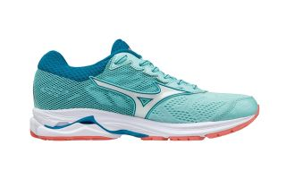 Mizuno WAVE RIDER 21 WOMEN BLUE WHITE J1GD180365