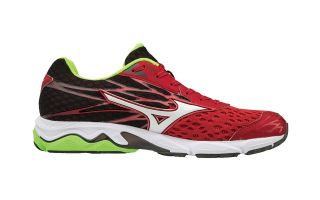 MIZUNO WAVE CATALYST 2 ROJO BLANCO NEGRO J1GC173302