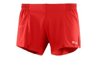 Salomon PANTALON CORTO S LAB 4 ROJO
