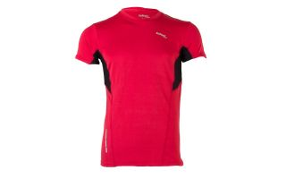 CAMISETA ELEMENT FITNESS ROJO NEGRO