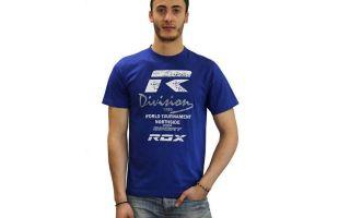 Rox CAMISETA R-SIGNATURE ROYAL