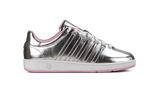 Kswiss CLASSIC VN BLANCO PLATA ROSA MUJER
