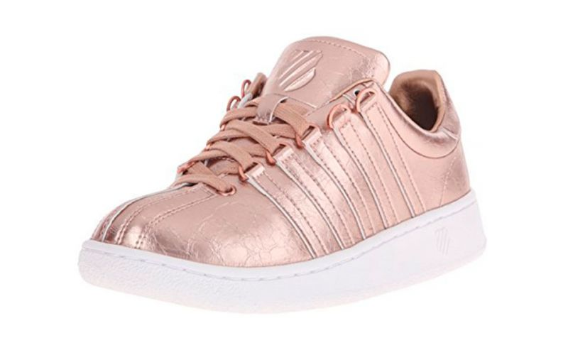 KSWISS CLASSIC VN AGED FOIL ORO ROSADO BLANCO MUJER 93744282