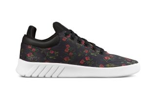 Kswiss AERO TRAINER LIBERTY NOIRE BLANCHE FEMME