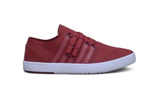 Kswiss D R CINCH LO ROUGE BLANC