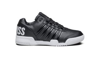 Kswiss GSTAAD BIG LOGO BLACK WHITE 03764002