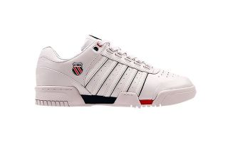 Kswiss GSTAAD WHITE NAVY RED 01734130