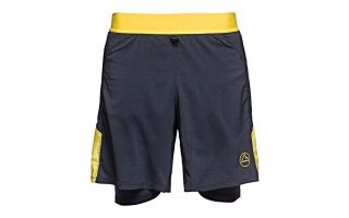 LA SPORTIVA VELOX BLACK YELLOW SHORTS J68999100