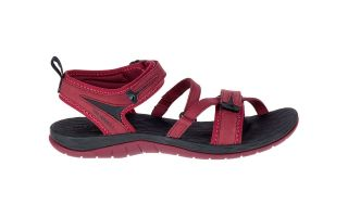 Merrell SIREN STRAP Q2 RED BLACK J12714