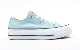 <center><b>Converse</b><br > <em>CHUCK TAYLOR ALL STAR LIFT BLUE PASTEL CV560687C 456</em>