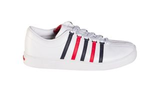 Kswiss THE CLASSIC BLANC BLEU ROUGE 02248130