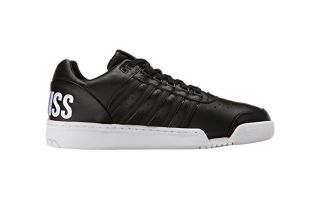 Kswiss GSTAAD BIG LOGO BLACK WHITE 03506066