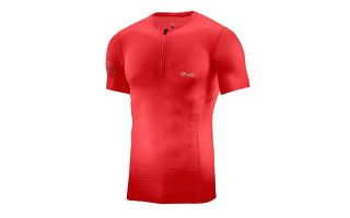 SALOMON CAMISETA S/LAB EXO HZ SS ROJO 39424100