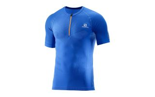 Salomon CAMISETA EXO MOTION HZ SS TEE AZUL 39315300