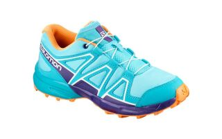 Salomon SPEEDCROSS JUNIOR BLUE PURPLE L40130500