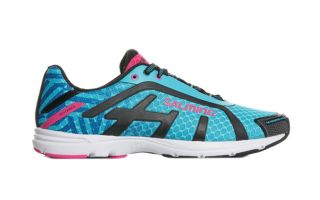Salming DISTANCE D6 BLUE PINK WOMEN 1288042 3333