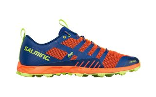 Salming OFF TRAIL COMPETITION BLAUE ORANGE FRAU 1288054 0808