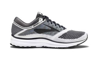 BROOKS REVEL BLANCO GRIS NEGRO 1102601D155