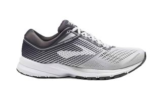 BROOKS LAUNCH 5 GRIS BLANCO MUJER 1202661B178