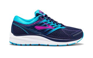 Brooks ADDICTION 13 NEGRO AZUL MUJER 1202532A456