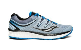 Saucony HURRICANE ISO 4 GREY BLACK BLUE MEN S20411-2