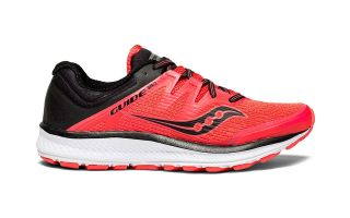 Saucony GUIDE ISO MUJER ROJO NEGRO S10415-2