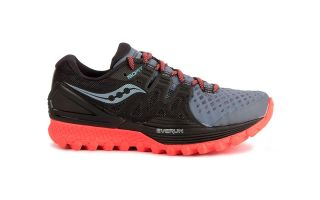 SAUCONY XODUS ISO 2 GRIS NEGRO MUJER S103875