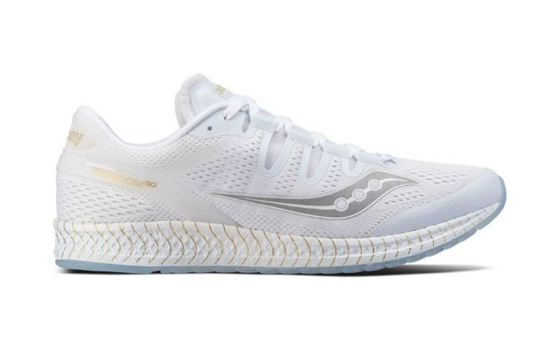 9dbc2633089d5 Saucony FREEDOM ISO WHITE GOLD S20355-11