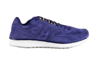 Saucony FREEDOM RUNNER WOMEN BLUE GOLD S30001-1