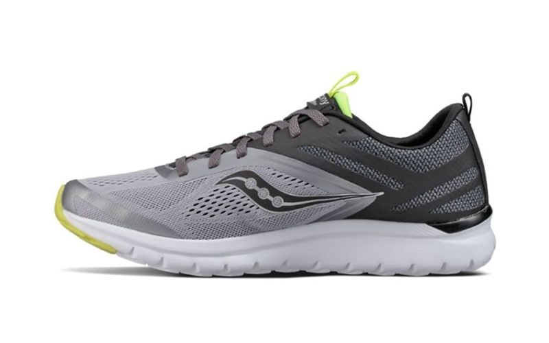 Saucony Liteform Miles grey black - Comfort and total freshness