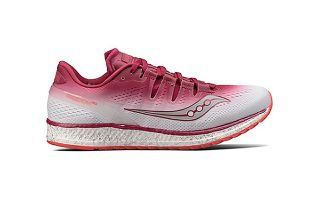 Saucony FREEDOM ISO ROSA BLANCO MUJER S10355-5