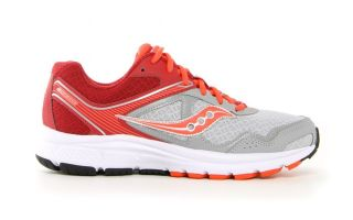 SAUCONY COHESION 10 GRIS ROJO MUJER S15333-9