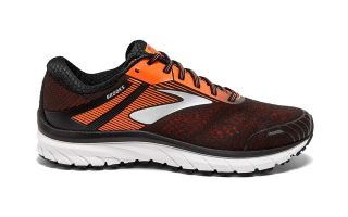 Brooks ADRENALINE GTS 18 BLACK ORANGE WOMEN 1102711D047