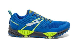 Brooks CASCADIA 13 BLUE YELLOW 1102851D405