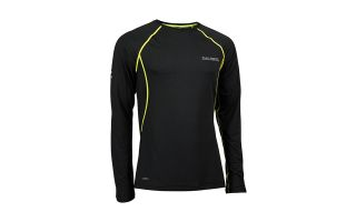 Salming BALANCE LONG SLEEVE TEE BLACK SHIRT 1278660-0101